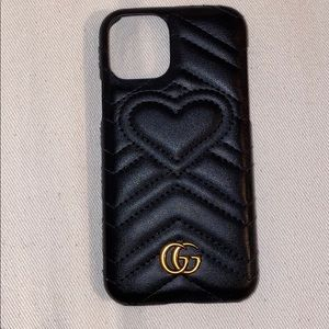gucci heart iphone 11 pro case